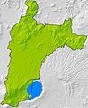 Municipio de Santa Ana, Santa Ana, El Salvador (Mapa Relieve).jpg