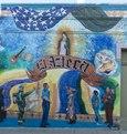 """Mural """"Colores de Mi Barrio"""" in El Azteca, Texas LCCN2014630551.tif"""