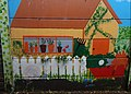 Mural St Nicholas church pathway, Sutton, Surrey, Greater London (2) - Flickr - tonymonblat.jpg