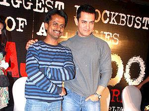 AR Murugadoss - Murugadoss with Aamir Khan