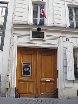 Musée Clemenceau - Entrance to the Musée Clemenceau