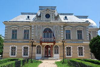 Roman, Romania - History Museum in Roman (Nevruzzi House)