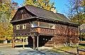 Muzeum - skanzen (Rožnov pod Radhoštěm) - Dřevěné městečko 021.JPG