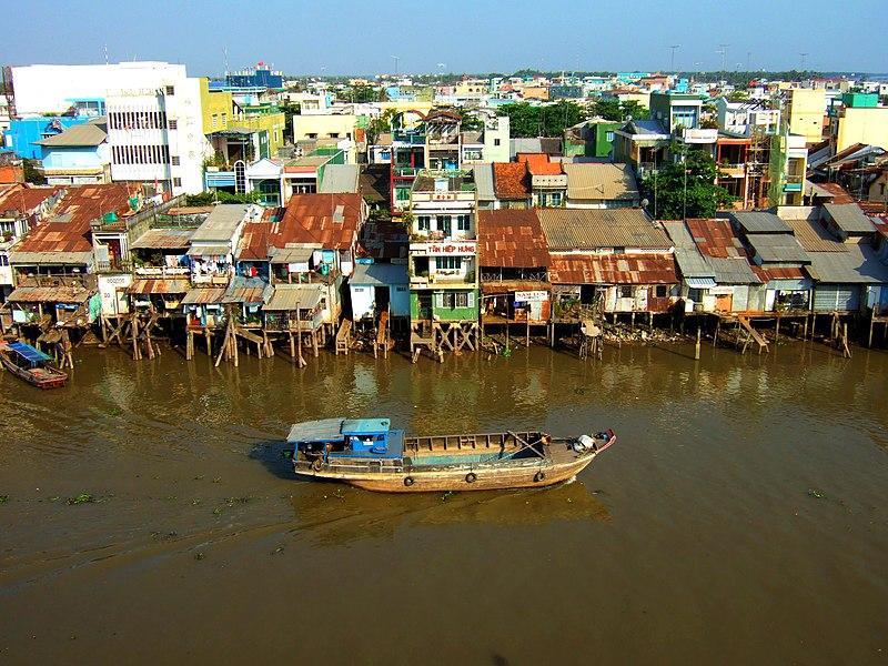 Дельта реки меконг фото 2
