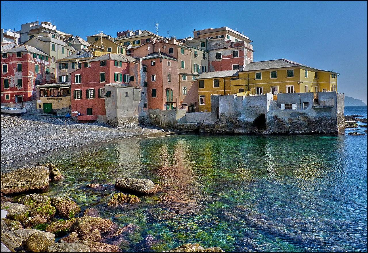 File:My fishing village , Boccadasse - panoramio jpg