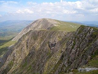 Mynydd Moel 863m high mountain in Wales