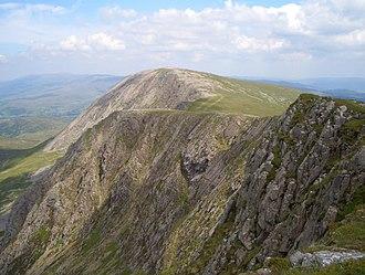 Mynydd Moel - Mynydd Moel from Cadair Idris