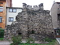 Náchod defensive wall ruin, tower 01.JPG