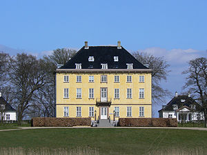 Dronninggård - Næsseslottet House seen from the south