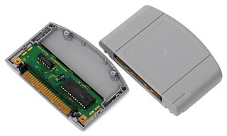 Nintendo 64 Game Pak official name for the ROM cartridges that store game data for the Nintendo 64