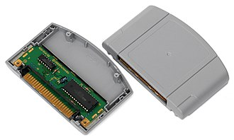 Console game - A Nintendo 64 cartridge