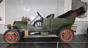 Neue Automobil Gesellschaft - NAG car from 1908