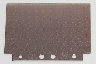 Soft laser desorption - A commercial NALDI target