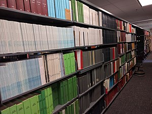 NOAA Central Library - Image: NOAA Central Library Stacks 2
