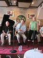 NO Trad Jazz Camp 2012 Palm Court Dan Levinson Katie Cavera.JPG