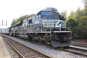 Progress Rail Services - Progress Rail PR43C locomotive at Anniston, Alabama.