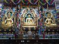 Namdroling MonasteryTibetan Golden Temple in Coorg.jpg