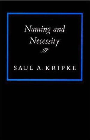 Naming and Necessity - Image: Naming and Necessity