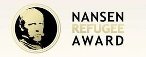 Nansen Refugee Award - Logo of the UNHCR Nansen Refugee Award