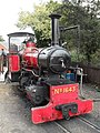 Narrow gauge steam engine at Nursery Railway Station (geograph 2048219).jpg