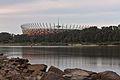 National Stadium in Warsaw from the Vistula (2).jpg