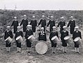 Navy marching band at US Naval Training Station, University of Washington, 1917-1918 (MOHAI 4392).jpg