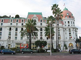 Édouard Niermans (architect) - Hôtel Negresco founded by Henri Négresco and realized by Édouard Niermans in 1912 on the promenade des Anglais in Nice