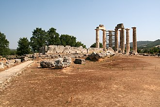 Nemea - Temple of Zeus