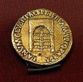 Nerone, aureo, con porta del tempio di giano chiusa, 54-68 dc.jpg
