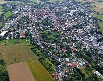 Neu-Anspach - from above
