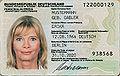 Neuer deutscher Personalausweis ab 1. November 2010, Vorderseite (Muster).jpg