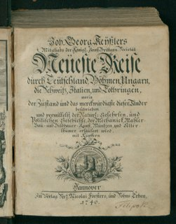 Johann Georg Keyßler German polymath