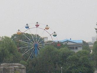 Sinuiju - Ferris wheel in Sinuiju