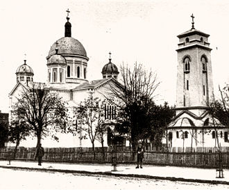 Kragujevac - Cathedral in Kragujevac, early 20th century.