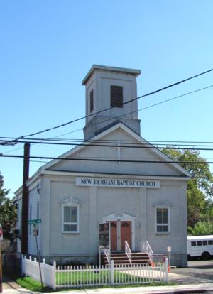 New Durham, North Bergen - Church in New Durham