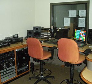 WEGL - WEGL 91's broadcasting studio in its current location in Suite 1105 of the New Auburn University Student Center.