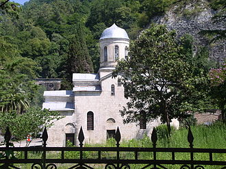 New Athos - St. Simon the Canaanite church in the New Athos (VI–VIII cc.)