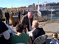 New Bedford, Hebert Bridge Dedication, October 26, 2012 (8125623013).jpg