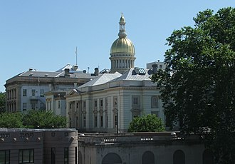 Mercer County, New Jersey - Image: New Jersey State House