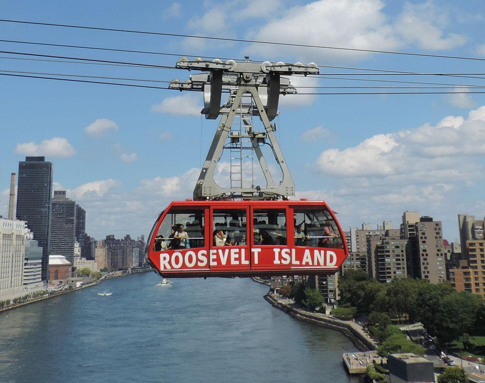 New York City Roosevelt Island Sky Tram