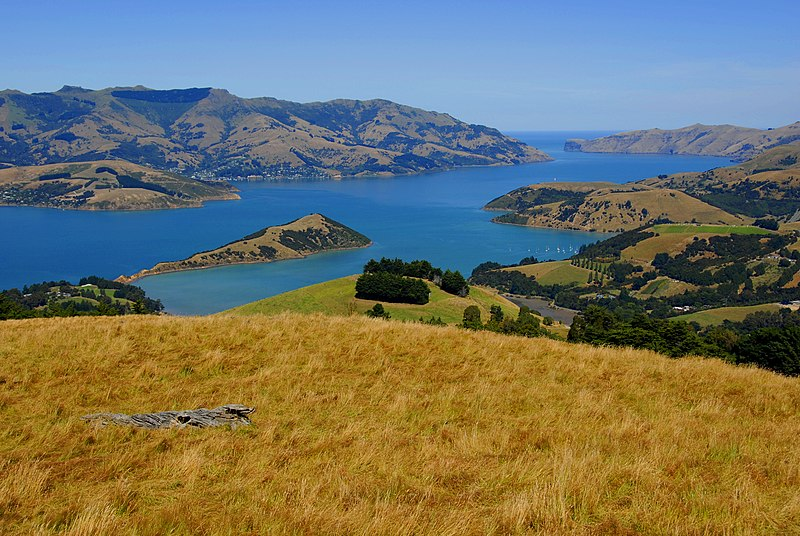 File:New Zealand - Canterbury Plains - Akaroa.jpg