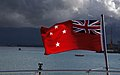 New Zealand Red Ensign (shipping flag) (8817568893).jpg