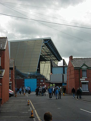 History of Manchester City F.C. (1965–2001) - Image: New kippax