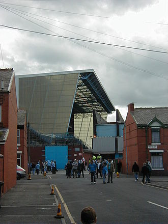 History of Manchester City F.C. (1965–2001) - Image: New kippax