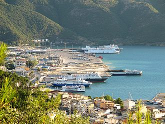 Epirus - Igoumenitsa is the main port in Epirus, and links the region to Italy.