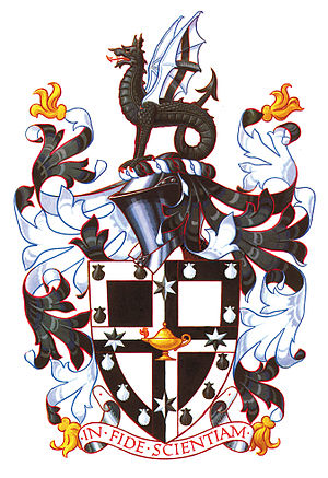 Newington College - Image: Newingtoncoatofarms