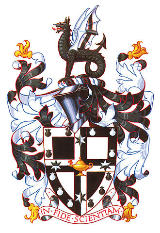 Lawrence Campbell Oratory Competition - Image: Newingtoncoatofarms