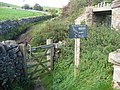 Newton Grange - Access Path to the Tissington Trail - geograph.org.uk - 1000406.jpg
