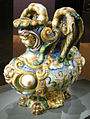 Ngv, maiolica di urbino, bottega di fontana e patanazzi, vaso di caino e abele, 1580 circa 04.JPG