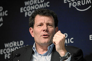 Nicholas Kristof - Kristof at the World Economic Forum in Davos, Switzerland on January 30, 2010